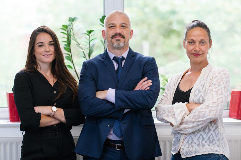 Equipe du cabinet d'avocats Guedj